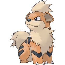 Growlithe - pokémon